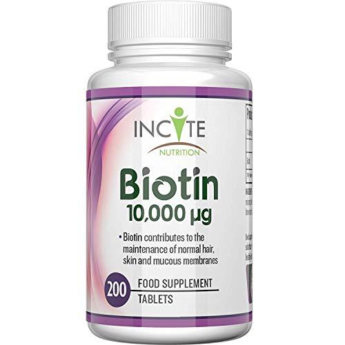 vitaminas para el crecimiento del cabello biotin
